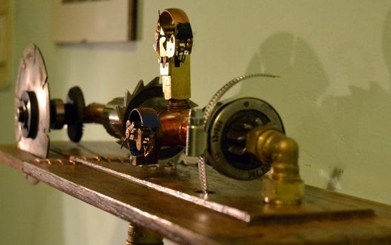 Everwoodstudio Steampunk Art Industrial And Modern