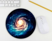 Galaxy Mouse Pad / Space Mouse Pad / Star / Office Desk Accessory