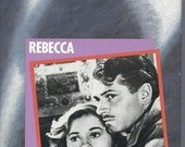 REBECCA Directed by HITCHCOCK, by Daphne du Maurier, Staring Laurence Olivier & Joan Fontaine 1940, VHS Tape