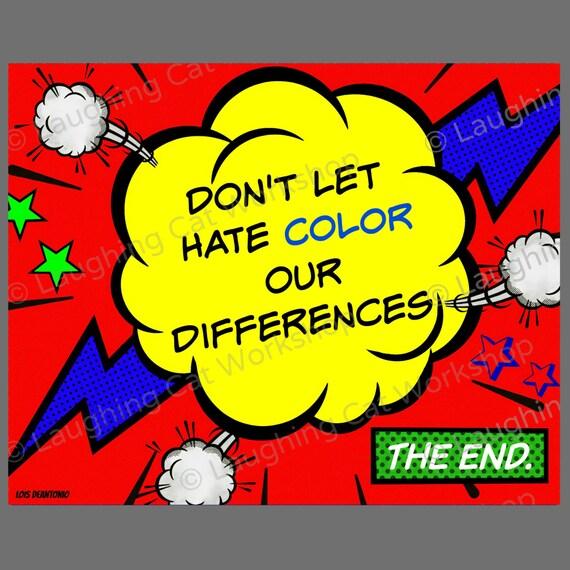 Inspirational quote for kids teens comic wall art school nurse