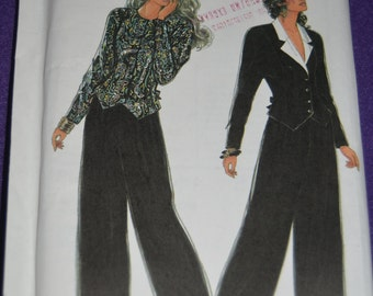 Simplicity 9962 Misses Top and Pants Sewing Pattern  UNCUT Sizes 8 -20