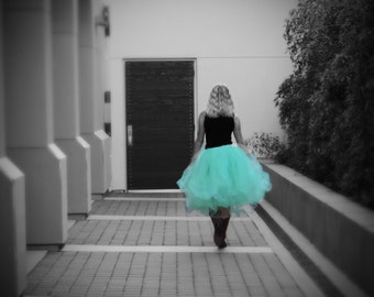 Adult tutu, tea length tutu, long tutu,  bridesmaid tutu, wedding dress, prom dress, senior portraits, sweet 16 tutu dress
