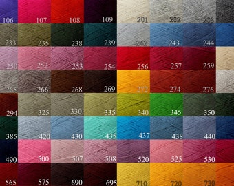 FREE SHIPPING*WOOL yarn 100% - fingering weight knitting yarn (17 yarn balls)