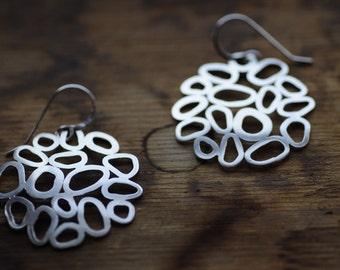 Round Pebble Earrings