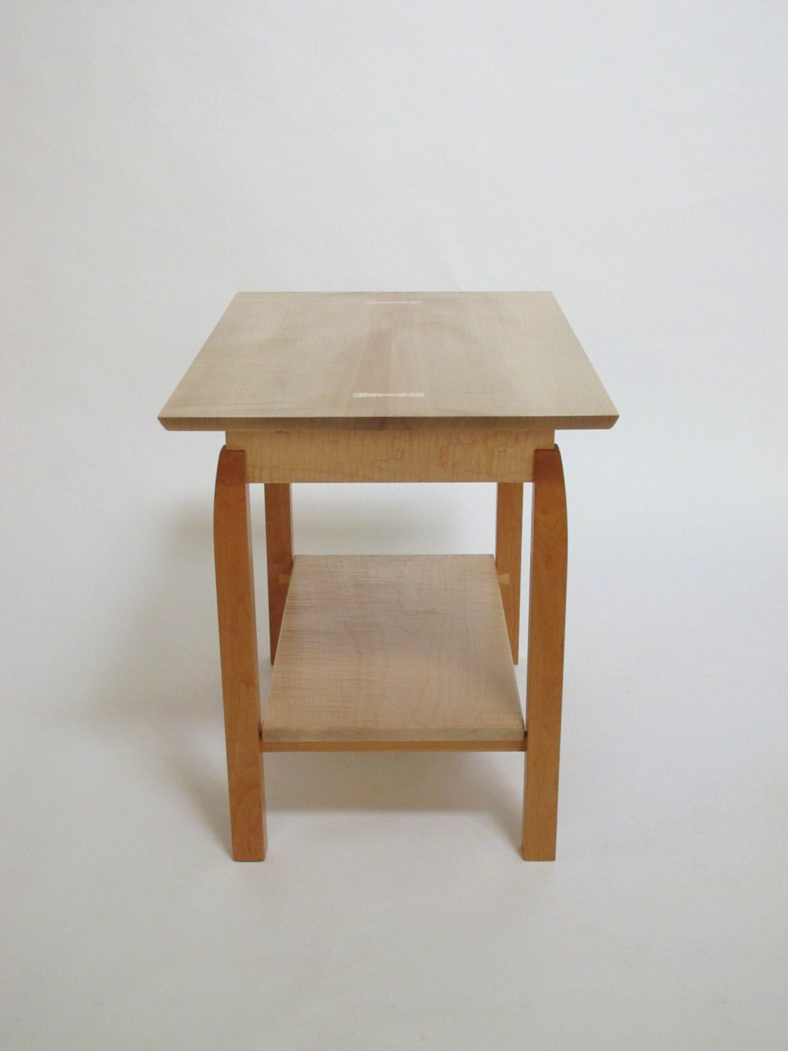 Side table with shelf narrow side table occasional table for Skinny side table