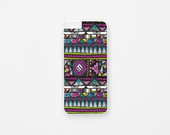 iPhone 6 Case - Tribal iPhone Case - Illustration iPhone Case - Hard Plastic or Rubber