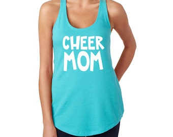 Cheer Tank - Cheer Mom - Cheerleader - Team Spirit - Cheerleading - Cheer Camp - Running Tank - Coach