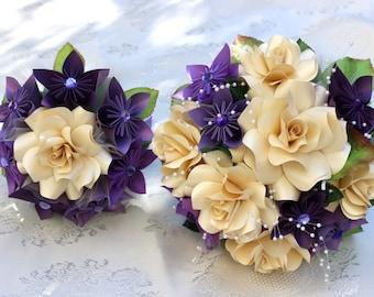 Paper Flower Bouquet Bridal Package