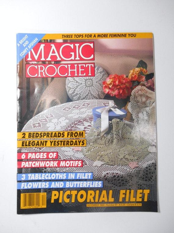 Magic Crochet Magazine : Magic Crochet Magazine, December 1993, Number 87, Crochet Pattern ...