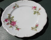 Set of 4 Vintage Floral Plates - Shabby Chic - Dinnerware - Kitchen Dining - Dining Serving - Floral Plates - Tea Party Serving - Wedding