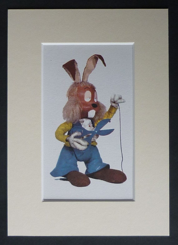1960s Vintage Children S Tv Print Of Dylan The Guitar
