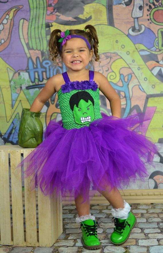 Girl Hulk Costume....Incredible Hulk Tutu by ...  Girl Hulk Costu...