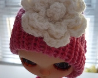 NEW Blythe Knit Hat with Flower