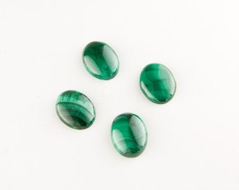 Green Malachite Oval Cabochon 16x12mm