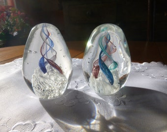 Pair of Paperweights