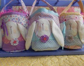 Bunny Pails for children or to put on a desk at School, or at a office