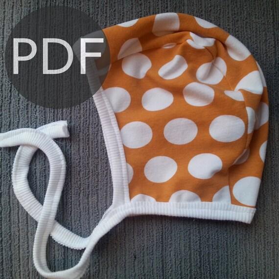Pilot Hat Pattern Pilot Hat Pdf Baby Hat Sewing