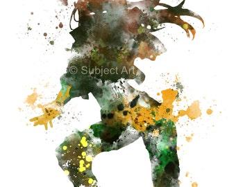 Rogue, X-Men ART PRINT illustration, Superhero, Home Decor, Wall Art, Avengers, Marvel
