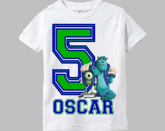 Monsters Inc Shirt - Monsters University Birthday Shirt