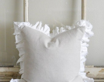 Ruffle Trim - Add to any pillow