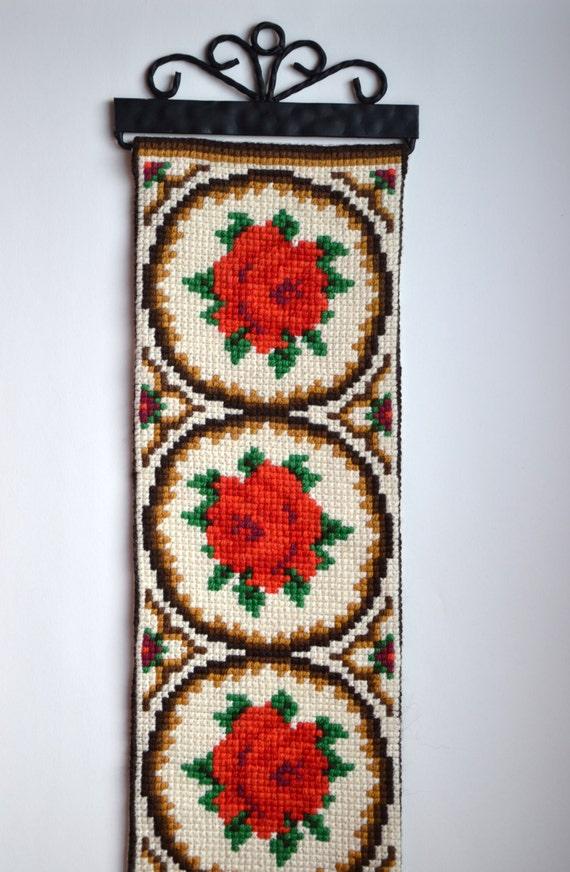 Norwegian Bell Pull Embroidery Wall By Soilevuoartandcrafts