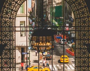 Fine Art Photography // New York Public Library, Architecture, New York City // Giclée Print
