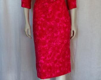 Vintage 60s Wiggle Dress
