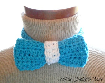 Crochet Bow Tie ~ Bow Tie for Boys ~ Bow Tie for Men ~ Bow Tie for Toddler ~ Adjustable Bow Tie ~ Tuxedo Bow Tie for babies Gift for Him