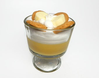 Scented Banana Pudding Candle