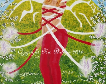 Beltane Rhiannon (prints and cards)