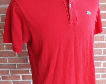Vintage Short Sleeve Polo Shirt by Lacoste