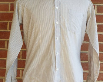 Vintage Long Sleeve Button Down Shirt by Sears Mens Store