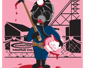 MY BLOODY VALENTINE mini print