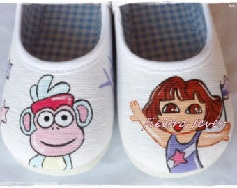 Dora the explorer shoes, Dora the explorer Sneakers, Dora the explorer