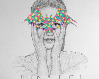 SALE / HIRAETH / Signed print by Niki Pilkington