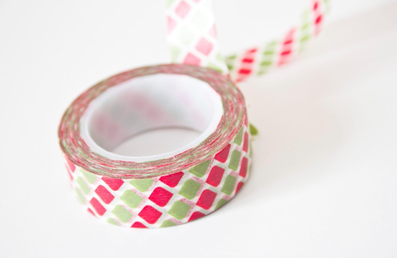 Polka dot washi tape geometric dot tape by swanstonstsupplies for Geometric washi tape designs