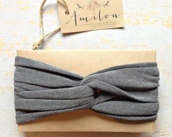Turban gris