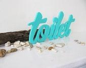Decor Wood Sign Toilet, WC Plaques, Bathroom Decor, Cafe, Restarant, Handmade Wood Sign, Party Decor