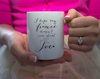 Fiancé Engaged Coffee Mug