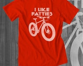Mountain Bike T shirt Fat Bike Fat Tire Bike T-Shirts Cycling T shirts Cycling Clothing Cycling Apparel Funny T shirts for Men
