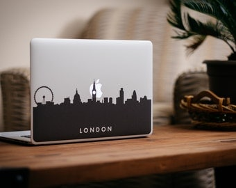 London Skyline MacBook Decal Sticker - by FP - DecalGirl