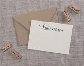 Personalized Calligraphy Stamp - Casual Style