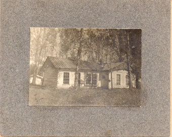 Antique Photo of Cute Little Home