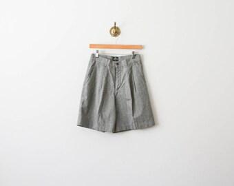 vintage 70s lees houndstooth shorts