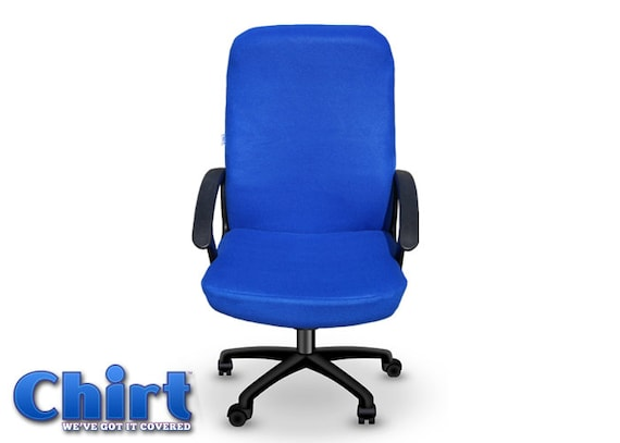 Bright Royal Blue Chirt fice Chair Cover