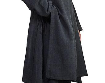 ChomThong Hand Woven Cotton Mongolian Coat (JFS-138-01)