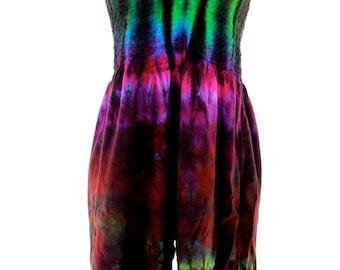 Tie Dye Jumper, Jamaican Clothing, One Piece Summer Resort Wear, Ladies Hippie Clothes, Featival Gear