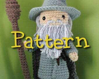 Gandalf the Grey Crochet Amigurumi Pattern