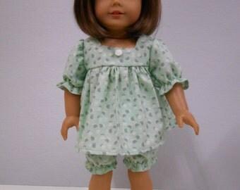 Light Green Baby Doll Pajamas