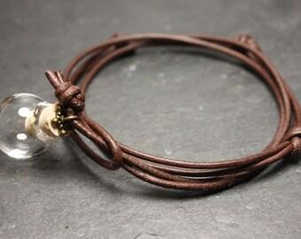 Wunschkugel Armband - individuell befüllbar